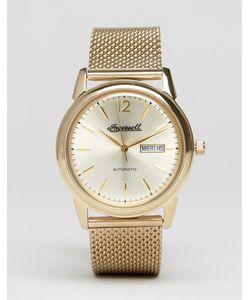 Ingersoll | Золотистые Часы С Сетчатым Ремешком New Haven Automatic