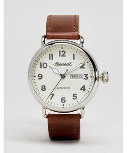 Ingersoll | Кварцевые Часы С Хронографом И Коричневым Кожаным Ремешком Trenton