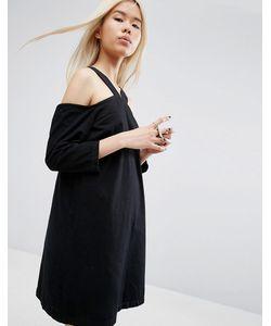 ASOS WHITE | Джинсовое Платье