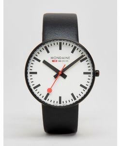 Mondaine | Черные Часы С Циферблатом Диаметром 42 Мм Giant