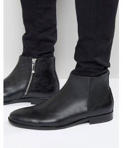 Aldo | Кожаные Ботинки На Молнии Pannone Черный
