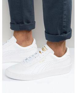 Puma | Белые Кожаные Кроссовки Star Court 36118901 Белый