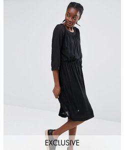 Monki | Эксклюзивное Платье Со Складками
