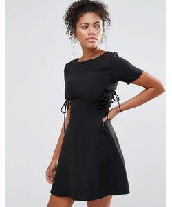 Glamorous | Платье Со Шнуровкой Сбоку