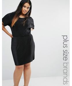 Boohoo Plus | Платье Со Складками