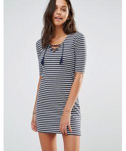 Hollister | Облегающее Платье Со Шнуровкой