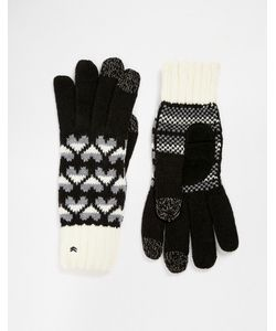 Totes | Вязаные Перчатки С Накладками Для Сенсорных Экранов На 3 Пальцах
