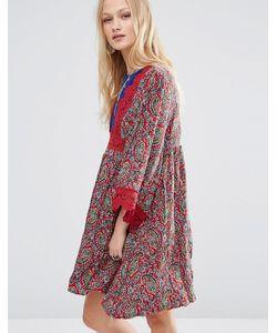 Hazel | Платье Мини С Принтом