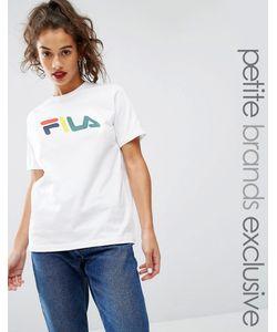 Fila Petite | Oversize-Футболка С Принтом Белый