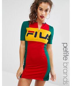 Fila Petite | Облегающее Платье Мини На Молнии Спереди