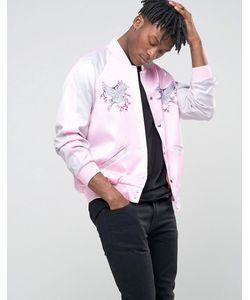 Jaded London | Куртка-Пилот Souvenir Розовый