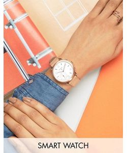 Fossil | Q Sand Leather Tailor Smart Watch