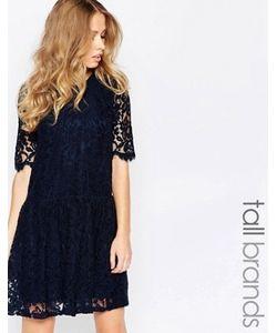 Y.A.S Tall | Кружевное Платье С Заниженной Талией