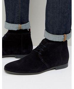 Hugo   By Boss Paris Short Suede Boots