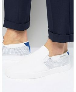 Calvin Klein | Ives Weave Slip On Trainers