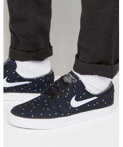Nike SB | Черные Парусиновые Кроссовки Stefan Janoski 705190-005