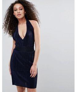 Wal G | Облегающее Платье С Халтером