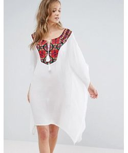 Anmol | Пляжное Платье Мини С Вышивкой