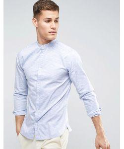 Jack & Jones | Приталенная Рубашка В Полоску Premium