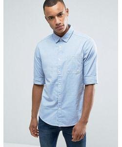 Esprit | Рубашка На Пуговицах С Узкими Рукавами И Нагрудным Карманом