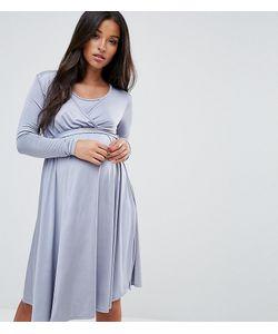 Bluebelle Maternity | Свободное Платье С Запахом И Поясом