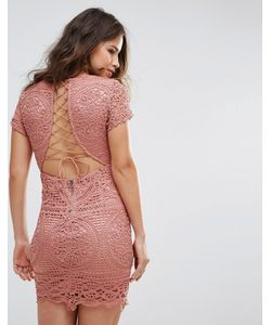 Love Triangle   Кружевное Платье Мини