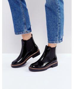 Glamorous | Черные Ботинки Челси На Толстой Подошве