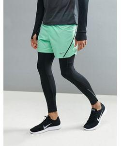 Nike Running | Зеленые Шорты Aeroswift 5 717881-387
