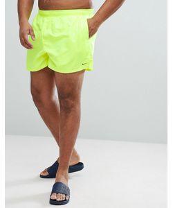 Nike | Желтые Короткие Шорты Для Плавания Volley Ness8830-737