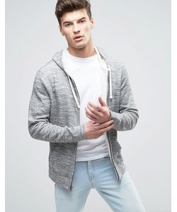 Abercrombie and Fitch | Abercrombie Fitch Zipthru Hoodie Duofold In Marl
