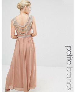 TFNC Petite | Платье Макси С Отделкой Сзади Wedding