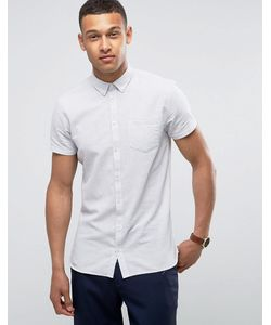 Minimum | Рубашка Узкого Кроя На Пуговицах С Короткими Рукавами Bellino