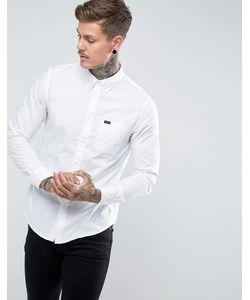 Lee | Оксфордская Рубашка Классического Кроя На Пуговицах С Карманом