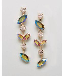 Krystall | Серьги-Подвески С Кристаллами Swarovski От London