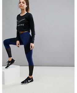 Nike | Леггинсы С Сетчатой Вставкой Power Legendary