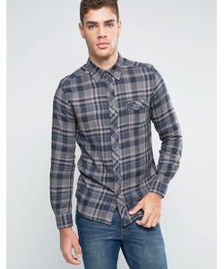 Wrangler | Узкая Рубашка В Клетку В Стиле Вестерн Castle Rock
