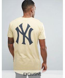 Majestic | Длинная Футболка New York Yankees Эксклюзивно Для