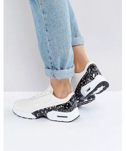Nike | Бежевые Кожаные Кроссовки Air Max Jewell Lx