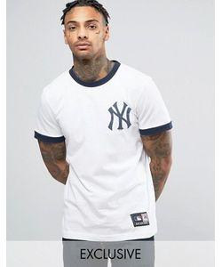 Majestic | Длинная Футболка New York Yankees Ringer Эксклюзивно Для