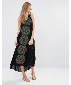 Piper | Платье Макси С Вышивкой Bima