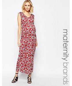 Mama Licious | Трикотажное Платье Макси Для Беременных С Цветочным Принтом Mamalicious