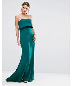 JARLO   Двуслойное Платье Без Бретелек