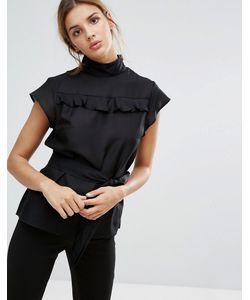 Gestuz | Шелковая Блузка В Викторианском Стиле С Высоким Воротом Janet