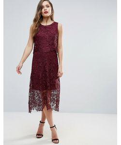 AX Paris | Кружевное Платье Миди