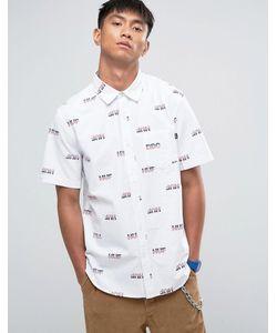 Huf | Рубашка Классического Кроя С Логотипом
