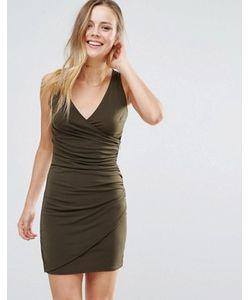 Wal G | Облегающее Платье С V-Образным Вырезом