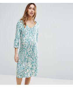 Mama Licious | Чайное Платье С Цветочным Принтом
