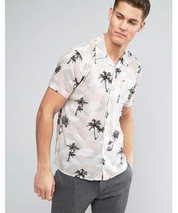 D-Struct | Рубашка С Пальмами