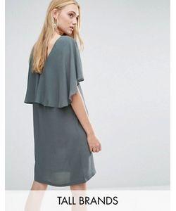 Y.A.S Tall | Платье С Оборкой Naomi
