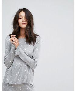 Vero Moda   Пижамный Топ С Принтом Звезд И Луны